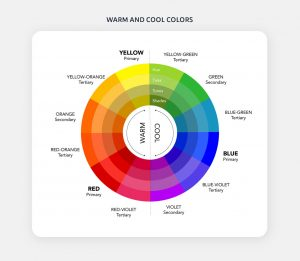 Cool & warm colours