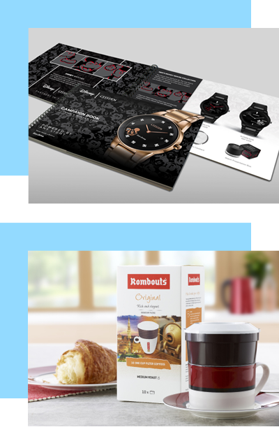 Rombouts Coffee Packaging