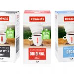 Rombouts Coffee Compostable One Cup Filter Packaging